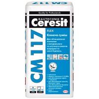 Клей для плитки Ceresit СМ-117 25кг