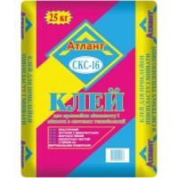 Клей для пінопласту АТЛАНТ  СКС 16 25кг