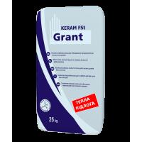 Клей для плитки GRANT Keram FSt 25кг