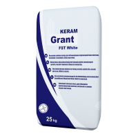 Клей для плитки GRANT Keram FSt White 25кг